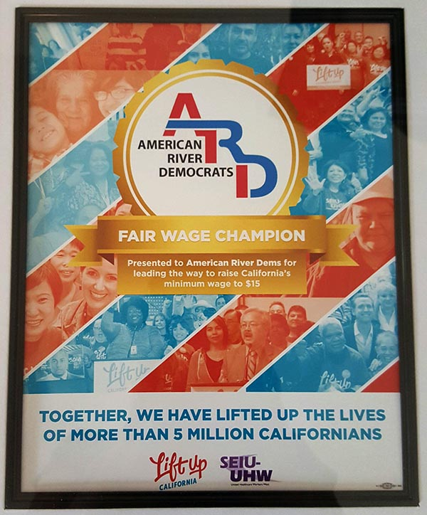 ardems fair wage champion