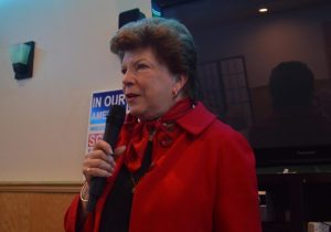 Delaine Eastin speaking