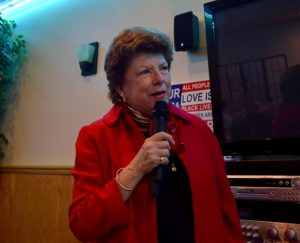 Delaine Eastin speaks